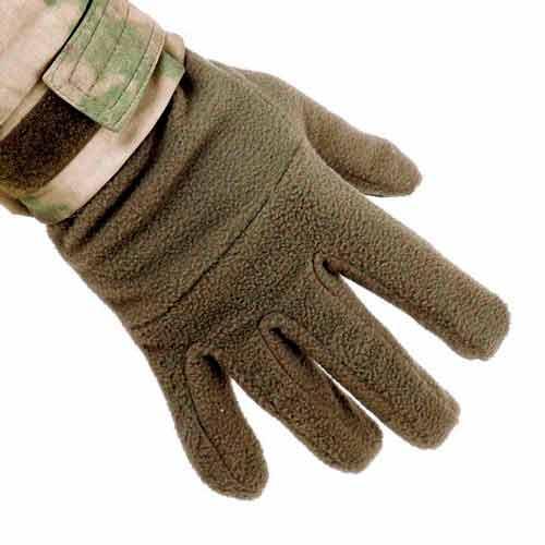 Перчатки зимние флисовые