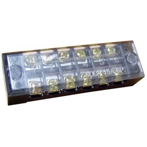 Клеммная колодка защищенная e.tc.protect.15.6, 15А, 6 полюсов p056003