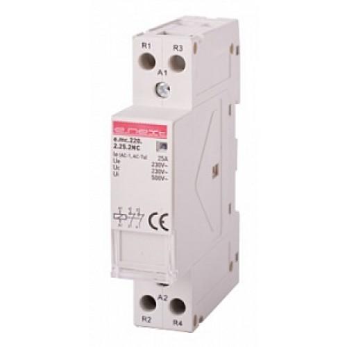 Модульний контактор e.mc.220.2.25.2NC.  2р, 25А, 2NC, 220В p005025