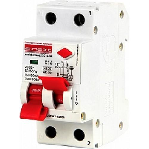 Выключатель дифференциального тока e.elcb.stand.2.C16.30 p0620006