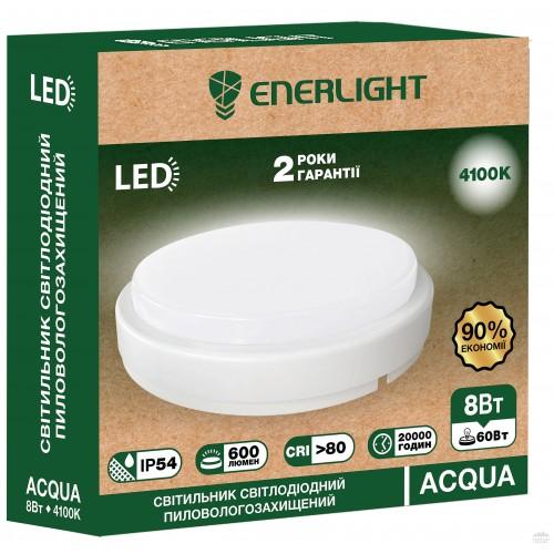 Светильник пылевлагозащищенный Enerlight Acqua 8 Вт 4100К
