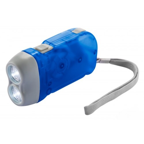 Фонарик LEMANSO 2 LED синий / LMF41