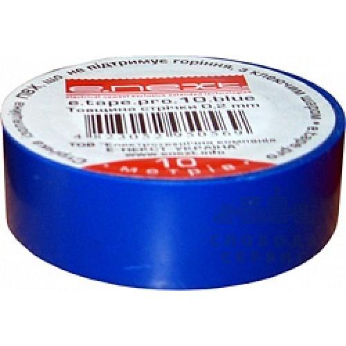 Изолента e.next из самозатухающего ПВХ синяя 10м. p0450005