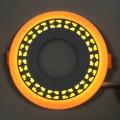 "LED панель Lemanso ""Кубики"" 3+3W с желтой подсветкой LM554 круг"