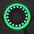 """LED панель Lemanso """"Точечки"""" 6+3W с зеленой подсветкой LM542 круг"""