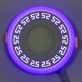 "LED панель ""Грек"" Lemanso 3+3W с синей подсветкой LM533 круг"
