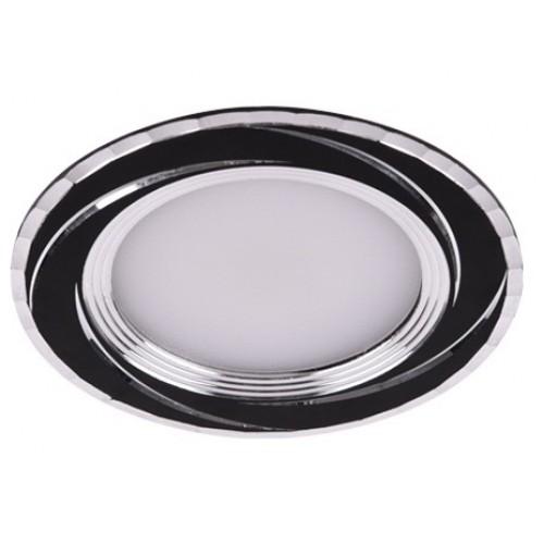 LED панель Lemanso 7W 560LM 4500K чёрный / LM487