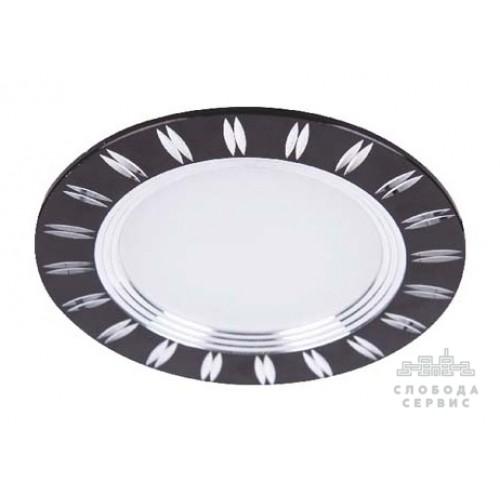 LED панель Lemanso 7W 560LM 4500K чёрная / LM488