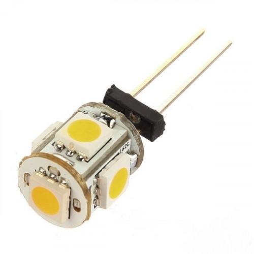 Лампа Lemanso св-ая G4 5LED 1W 7000К 5050SMD 12V/ LM244