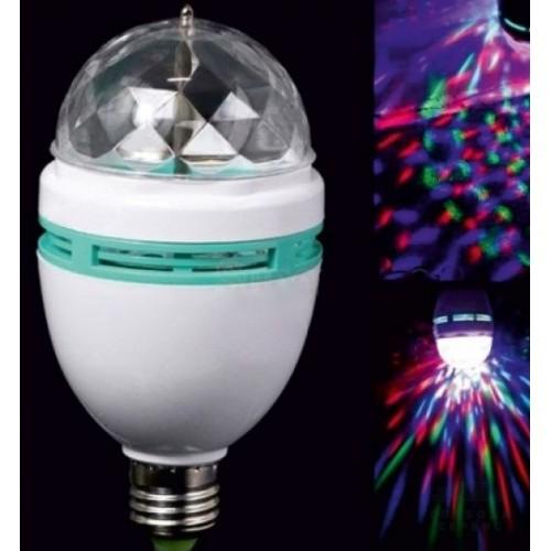 Лампа Lemanso св-на ДИСКО E27 RGB 3W 230V / LM337