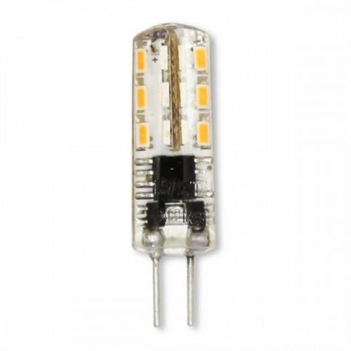 Лампа Lemanso св-ая G4 24LED 1,5W 230V 120LM 4500K 3014SMD силикон / LM349