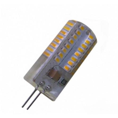 Лампа Lemanso св-ая G4 64LED 3W 230V 220LM 4500K 3014SMD силикон / LM351