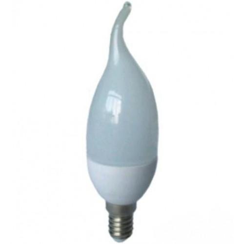 Лампа Lemanso св-ая C37T E14 7,5W 550LM 4500K / LM702 с хвостом