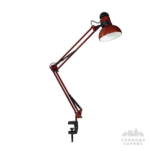 """Лампа настольная со струбциной """"Шоколад"""" (ТМ LOGA ® Light)"""