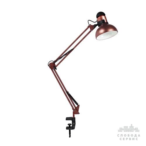 """Лампа настольная со струбциной """"Старая медь"""" (ТМ LOGA ® Light)"""