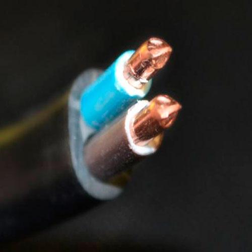 СКЗ кабель медный ВВГ-П нг 2*4,0 мм2 Слобожанский кабельный завод
