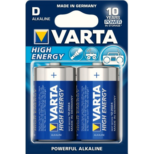 HE.D/LR20 VARTA High-Energy (блистер-2 шт.)