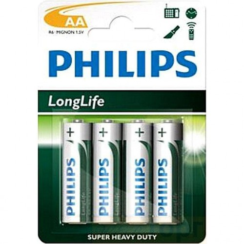 PHILIPS LONG LIFE  AA BL 4