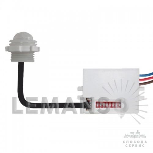 Датчик движения мебельный LEMANSO LM607 360° белый