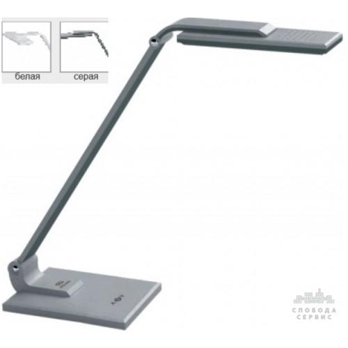 Настольная лампа Lemanso 10W 24LED 12V 450LM 4600K серебро / LMN088