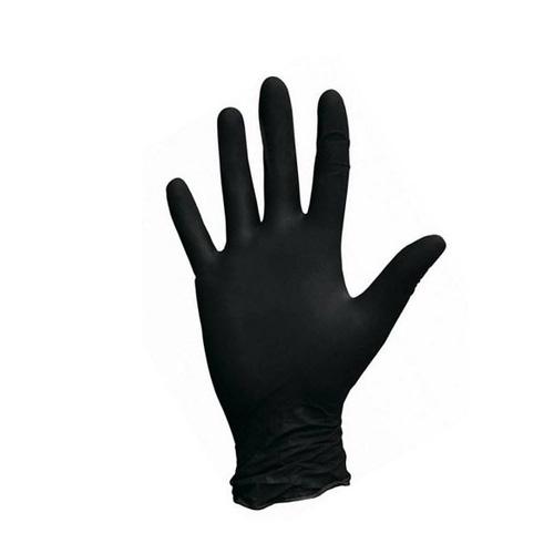 Перчатки нитриловые черные NITRILUX-BLACK
