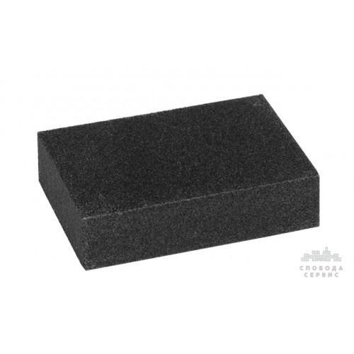 губка шлифовальная среднезернистая 100*70*25мм (зерно 80/100) 9130021