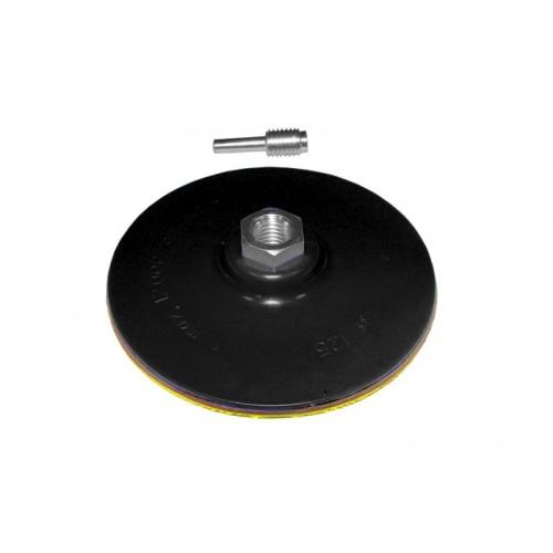 диск шлифовальный резиновый 125мм с липучкой (дрель) 9181151