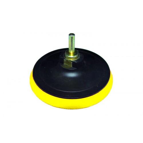 диск шлифовальный резиновый 115мм с липучкой (болгарка) 9182121