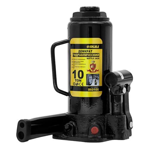 домкрат гидравлический бутылочный 10т H 230-460мм 6101101