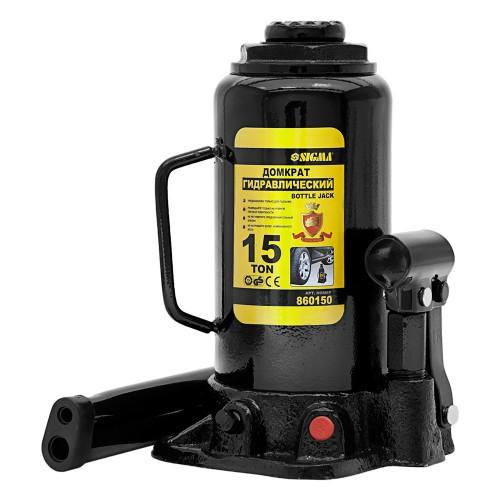 домкрат гидравлический бутылочный 15т H 230-460мм 6101151