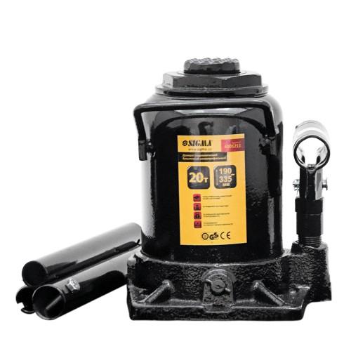 домкрат гидравлический бутылочный низкопрофильный 20т H 190-335мм 6101211