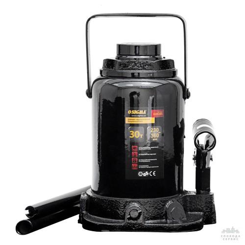 домкрат гидравлический бутылочный mid 30т H 230-360мм 6105301