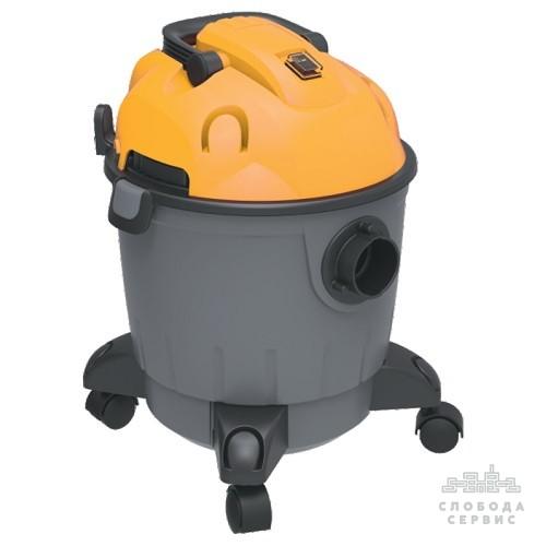 Пылесос строительный 1200Вт 1.5м3/мин 15.5КПа пластиковый бак 18л VORTEX (5346233)