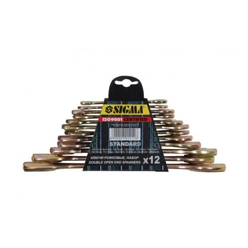 ключи рожковые 8шт 8-22мм БЕЛАРУСЬ 6010291