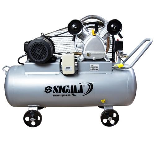 Компрессор ременной двухцилиндровый Sigma (7044631)