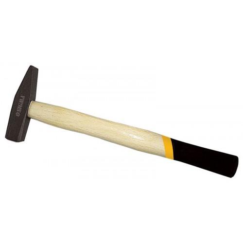 Молоток Sigma 1000г слесарный деревянная ручка (дуб) (4316401)