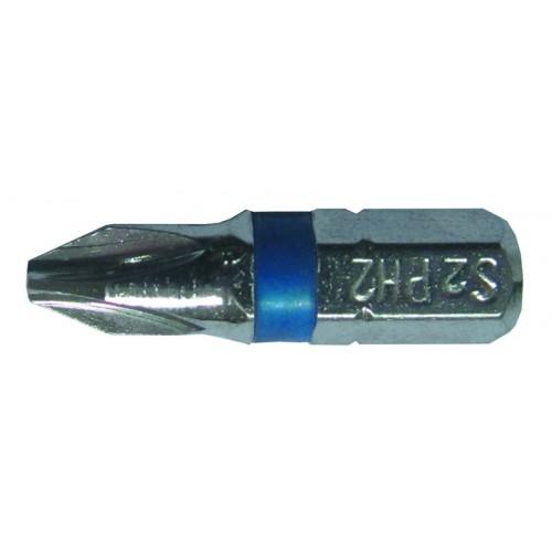 Набор бит Sigma Ph2x25мм ¼ 10шт S2 Chrome (лента) (4010251)