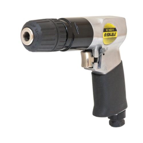 Дрель-шуруповерт Sigma ⅜ пневматический (с/з патрон) (6736011)