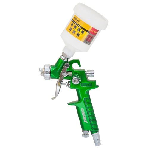 Краскораспылитель Sigma HVLP-mini Ø0.8 (зел) в/б (пласт) (6812041)