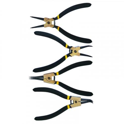 Набор съемников стопорных колец Sigma 4шт 180мм (4350001)