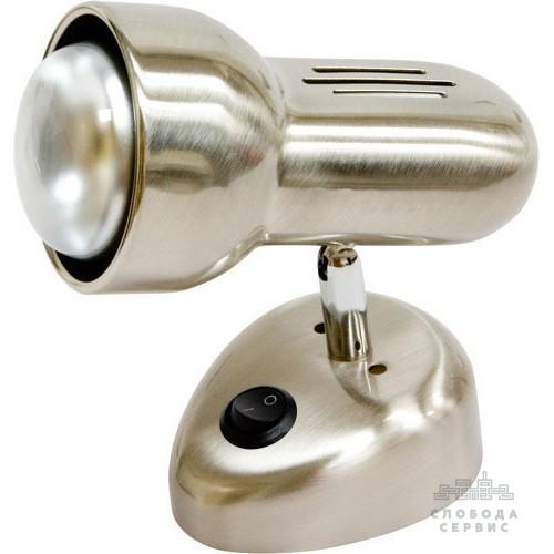 Спот Lemanso ST190-1 60W R50 E14 металл с выкл. титан