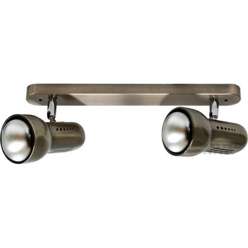 Спот Lemanso ST193-2 60W 2*R50 E14 металл без выкл. античное золото