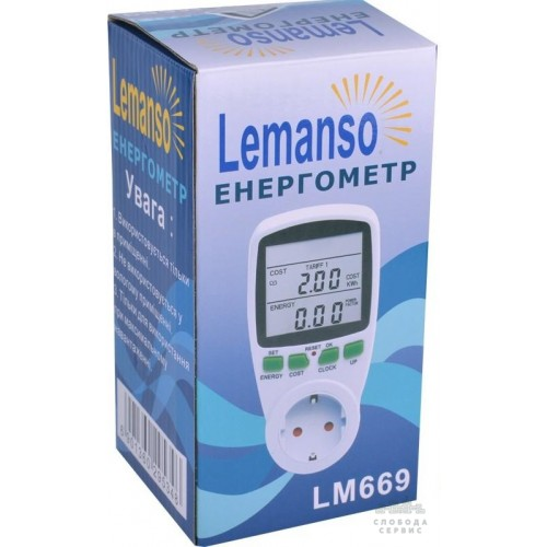 Энергометр Lemanso LM 669